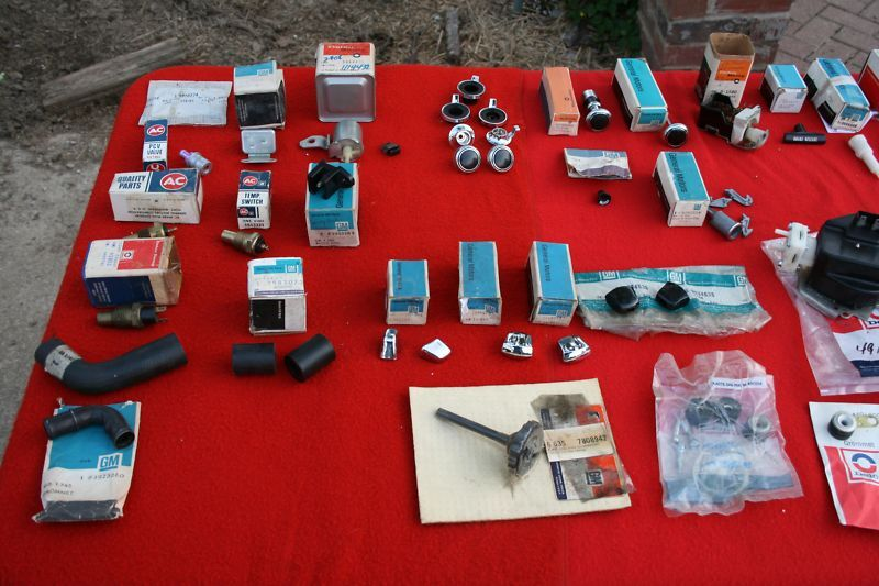NOS 1970 Z28 SS RS Camaro Parts Collection ALL GM NOS For Sale
