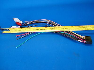 nakamichi stereo wire harness car audio radio power plug rca cd tape cd300  20pin