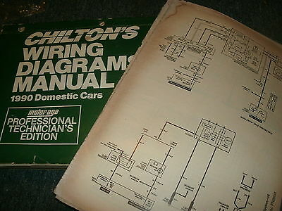 1990 CHRYSLER NEW YORKER IMPERIAL WIRING DIAGRAMS SCHEMATICS ... on