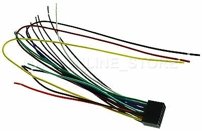 WIRE HARNESS FOR KENWOOD DDX-492 DDX492 *PAY TODAY SHIPS TODAY* For on