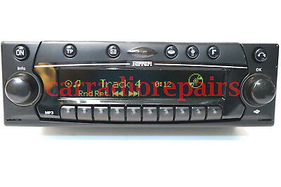 Ferrari Online Becker 6105 Radio CD Player+New Knobs, Aux