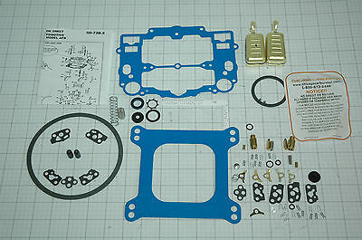 EDELBROCK CARB REBUILD KIT W/FLOATS 1403 1405 1406 1407