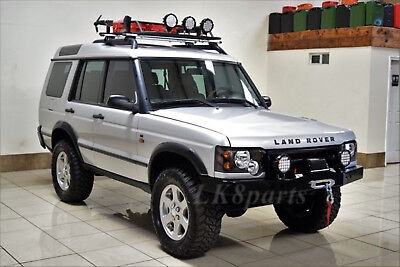 Land Rover Discovery 2 >> Land Rover Discovery 2 Heavy Duty Front Steel Bumper With Winch