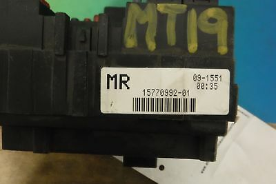 15770992-01 chevy silverado 1500 00 01 02 engine fuse box