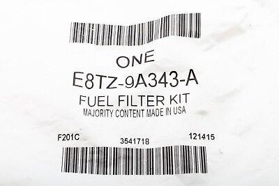 ford 7 3l diesel idi fuel filter housing bottom lower cap cover oem  e8tz-9a343