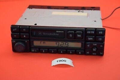 B#4 Mercedes Benz SL R129 Becker AM/FM Cassette Stereo