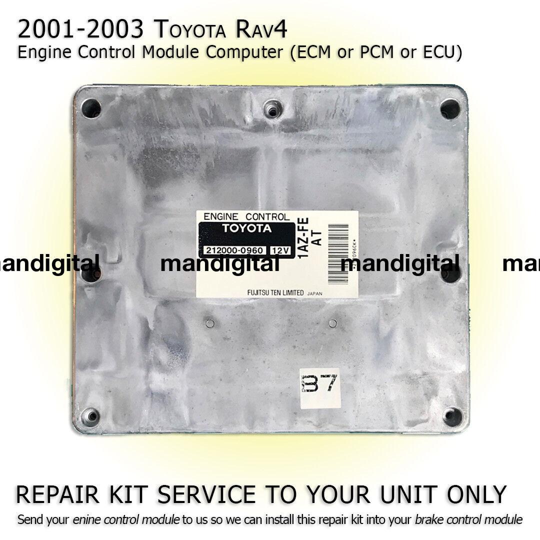 2002 toyota rav4 engine control module