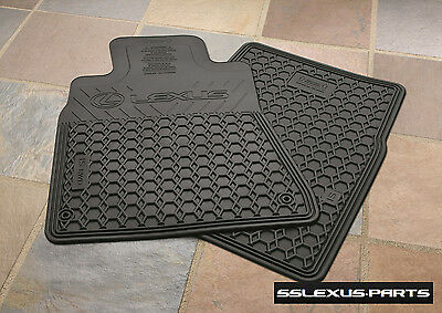 Lexus IS250 IS350 (RWD) (2006 2013) OEM ALL WEATHER FLOOR MATS