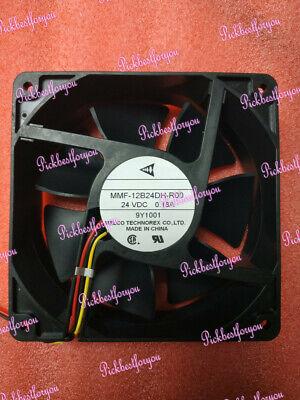 MITSUBISHI MMF-12B24DH-R00 DC24V 0 18A 12CM 3pin Inverter cooling
