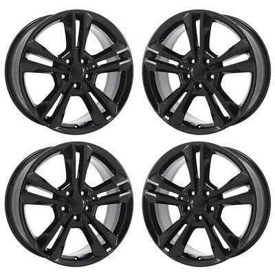 19 Dodge Charger Awd Black Wheels Rims Factory Oem Set 4 2410
