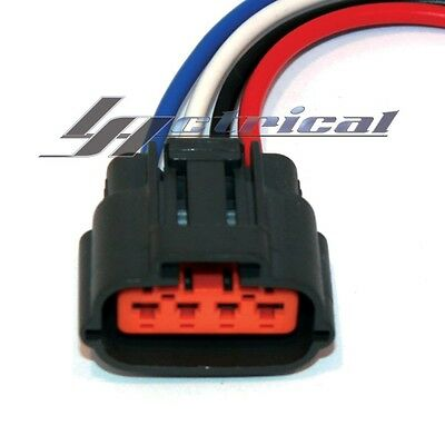 alternator repair plug harness 4-wire pin pigtail connector for kia sedona  3 5l