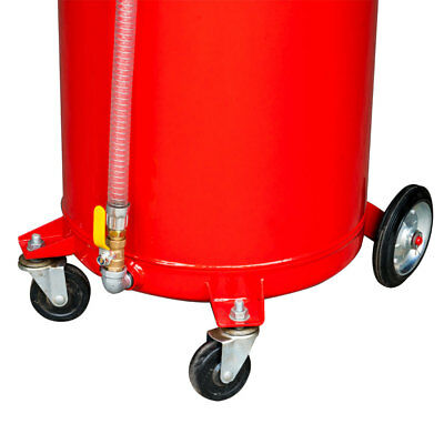 Best 20 Gallon Waste Oil Drain Tank Air 3198 Operated