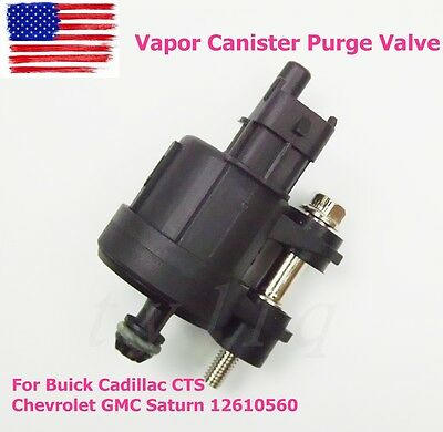 Vapor Canister Purge Valve For Buick Cadillac CTS Chevrolet