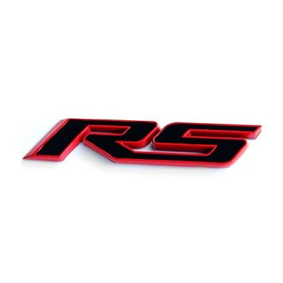 1x camaro Emblem Badges 3D Letter for Silverado Camaro RS Chevy Redline
