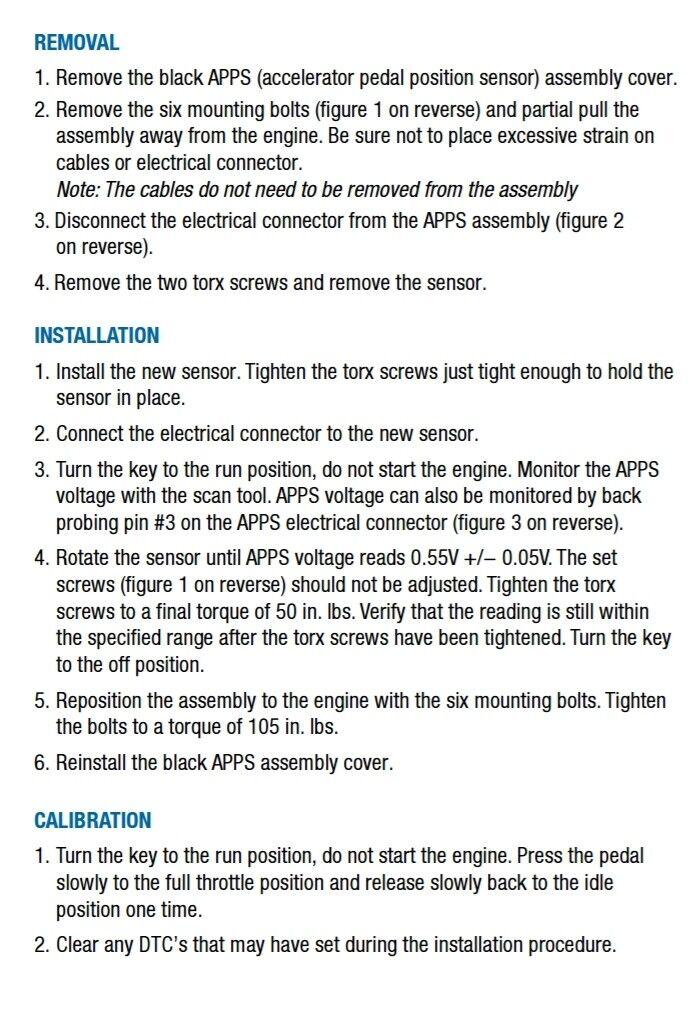 TPS APPS Throttle Position Sensor 98-07 Dodge Ram 2500 3500