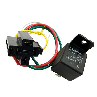 40A/DC12V DC 5-Pin Car SPDT Automotive Power Relay with ... on