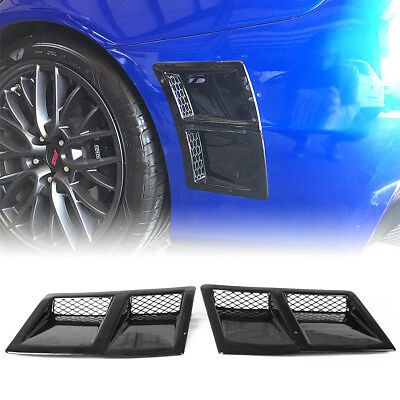 ABS For SUBARU WRX 4th 4DR STI Rear Side Vent Fender Intake Cover