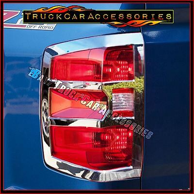For Silverado 1500 2014-2017+2500/3500HD 2015 2016 Chrome