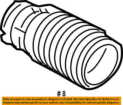 Acura Honda Oem 07 08 Tl Air Cleaner Intake Tube Duct Hose