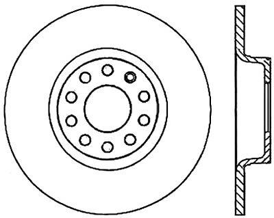 disc brake rotor c tek standard rear centric fits 05 11 audi a6 2018 Audi A6 Interior 25 97