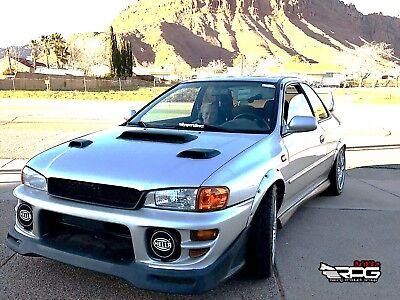 RPG Subaru Impreza Hood Vent FRP Induction Scoop For 99 01 GC8 GF8 STi WRX