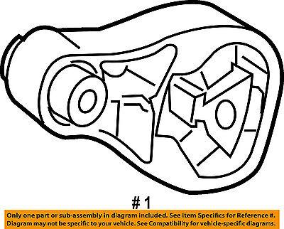 Smart Oem 08 15 Fortwo Engine Motor Mount Torque Strut 4512400109