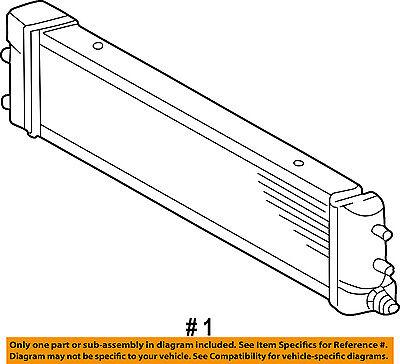 mercedes mercedes-benz oem 02-05 g500 transmission oil-fluid cooler  4635001400