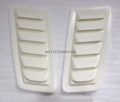 ABS Plastic Universal Ford Bonnet Vent Hood Vent FOCUS RS MK2 Style Unpainted