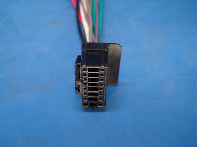 boss planet audio 16-pin cd dvd radio plug stereo wire harness back on  16