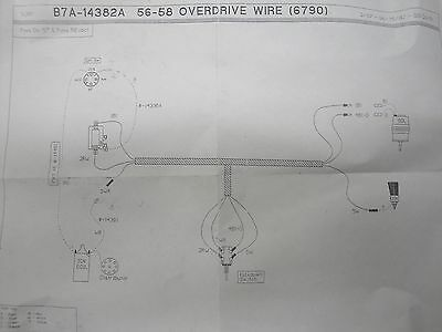 Ford Fairlane Wiring Harness - Technical Diagrams on