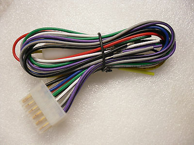 Dual  Wire Harness for MCP136BT MXD337BT 12 Pin  Marine stereo