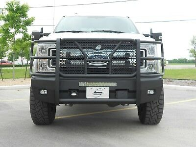 New Ranch Style Smooth Front Bumper 2017 2018 2019 Ford