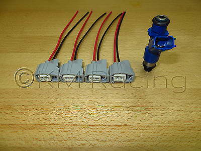 4x) Acura RDX 410cc Fuel Injector Wiring Harness Pigtails ... on