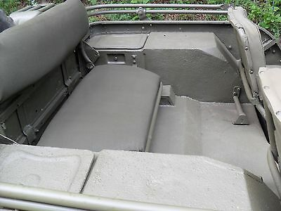 willys mb or ford gpw wwii military army jeep rear seat frame made Willys Jeep CJ2A Rear-Seat