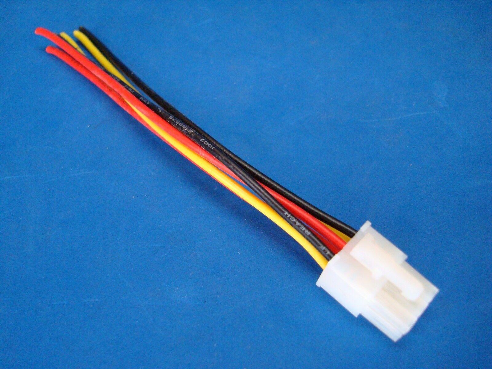 ROCKFORD FOSGATE PUNCH AMPLIFIER 6 PIN_57 rockford fosgate punch amplifier 6 pin speaker wire harness plug