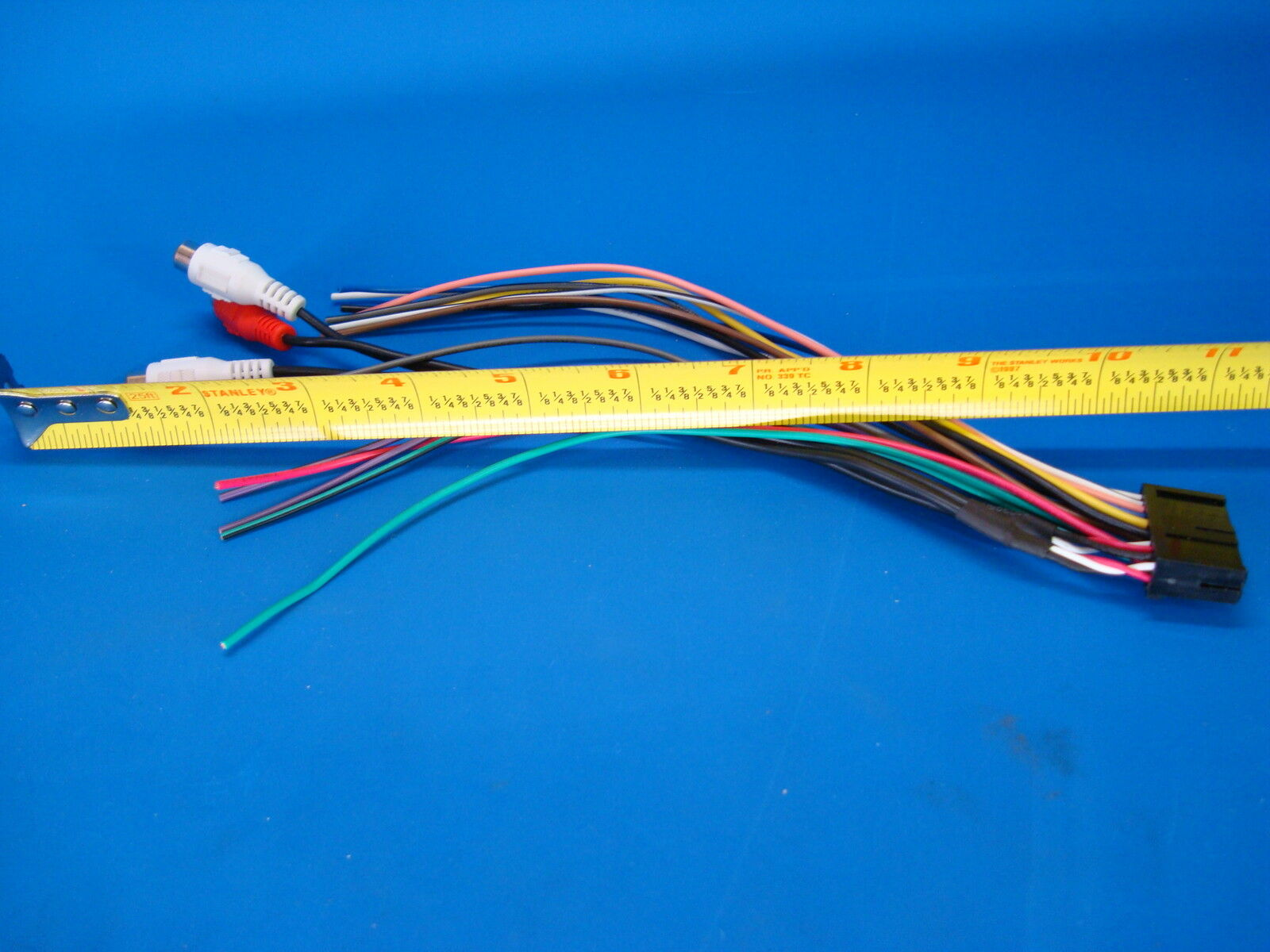 DUAL RADIO POWER PLUG STEREO WIRE HARNESS 20PIN CD MP3 DVD TV XDVD8180 US  SELLER For Sale