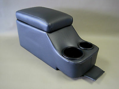 Crown Victoria Deluxe Fully Upholstered Black Center Console P