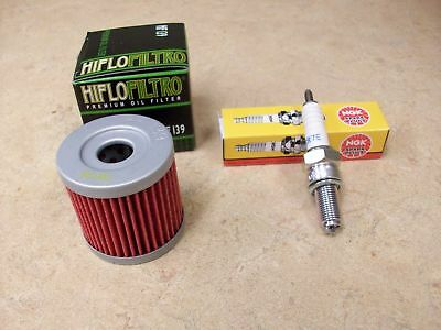 SUZUKI DRZ 400 E S SM NEW TUNE UP KIT HF139 OIL FILTER NGK
