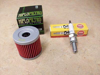 TUNE UP KIT HF139 OIL + AIR FILTER NGK CR7E SPARK PLUG