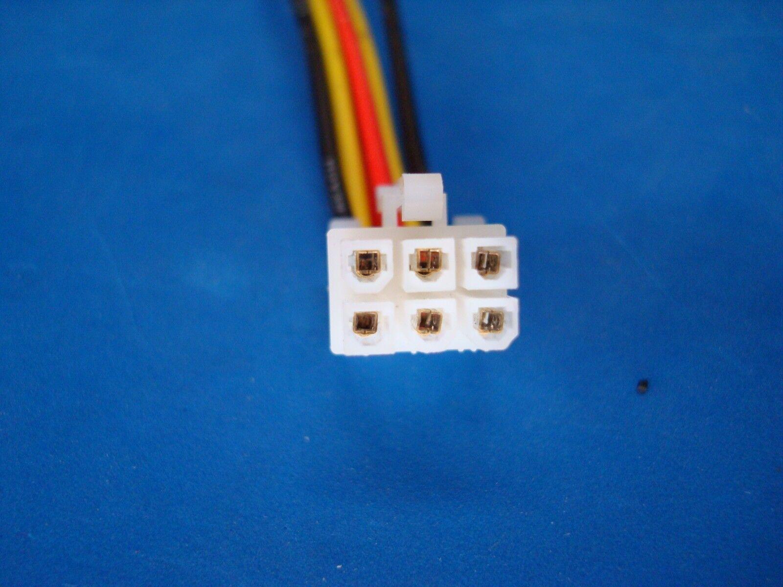 Rockford Fosgate Punch Amplifier 6 Pin Speaker Wire Harness Plug Wiring 45hd 75hd 150hd For Sale