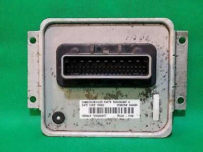 02 05 Dodge Ram 1500 Truck Fcm Front Control Module 56045434af 434af
