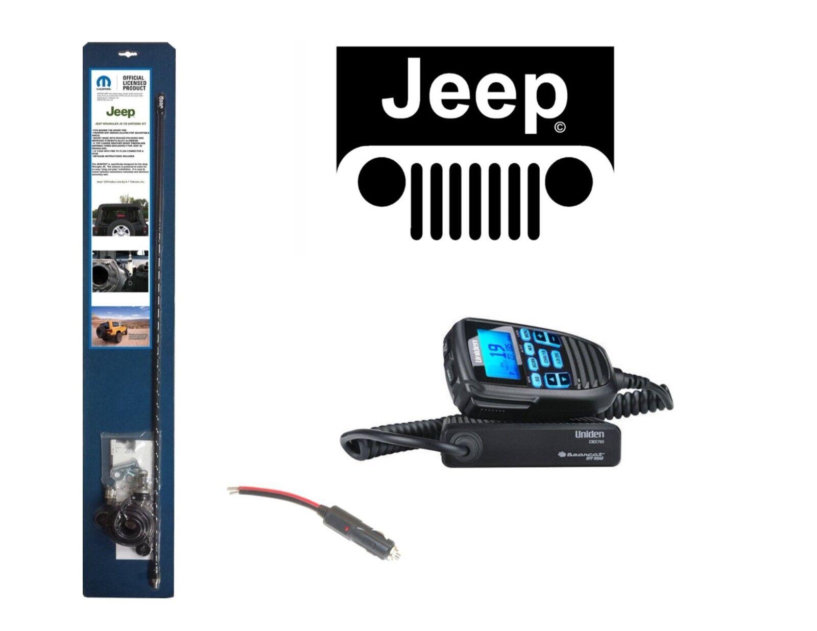 Coax /& Mount Kit New Uniden PRO505XL Bearcat Compact CB Radio PLUS Antenna