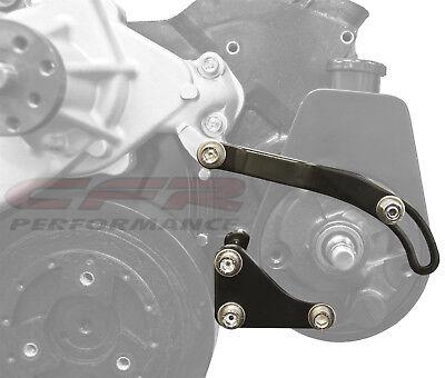 Chrome Power Steering Pump Bracket Chevy Saginaw Pump 283 305 327