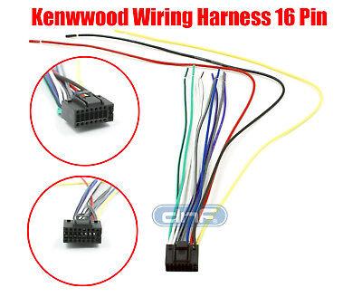 kenwood wiring harness 16 pin kdc 138 kdc 215s kdc 217 ships todaykenwood wiring harness 16 pin kdc 138 kdc 215s kdc 217 ships