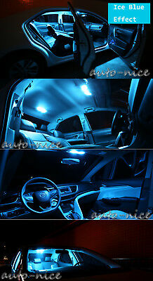 9pcs Bright Ice Blue Interior Led Light Package Kit For 03 07 Infiniti G35 Coupe