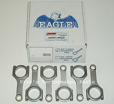 Eagle CRS6071N3D H-Beam Rods for Nissan VG30DETT VG30DE VG30 Z32