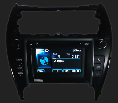 12 13 Toyota CAMRY Touch Screen Display LCD Radio MP3 XM CD Changer