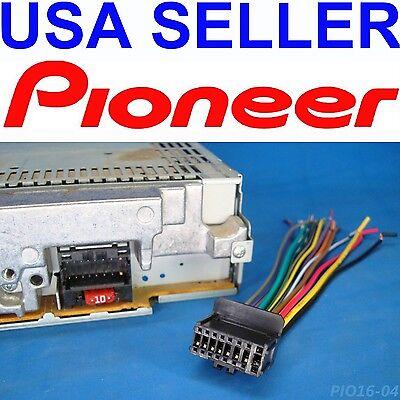 PIONEER RADIO PLUG STEREO HARNESS DEH P3000IB P4900IB ... on