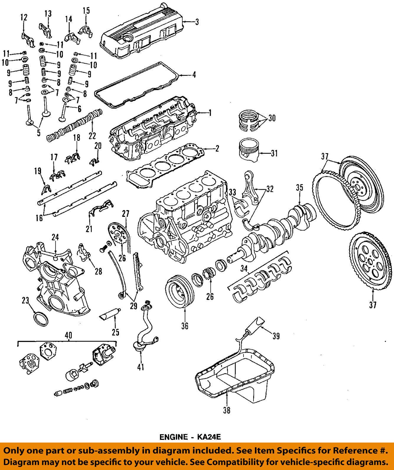 NISSAN OEM 90-94 D21 Crankshaft-Pulley 1230386G0A 12303