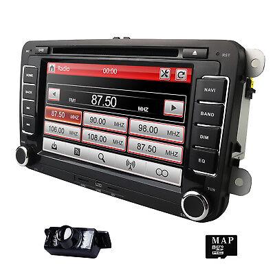 HIZPO For VW Golf MK5 MK6 Passat Jetta Radio DVD Player GPS